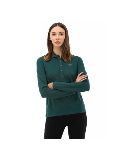 Lacoste Kadın  Tişört PF7841P.GFS Yeşil